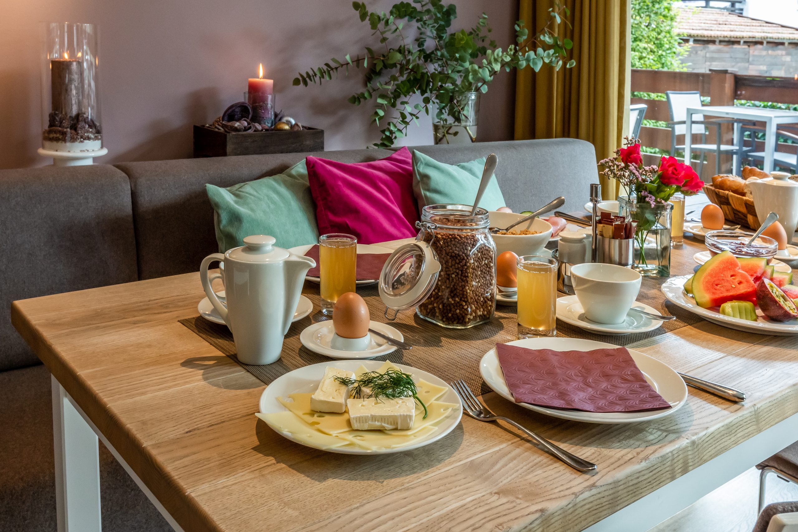 Frühstück Hotel Villa Lago Tegernsee